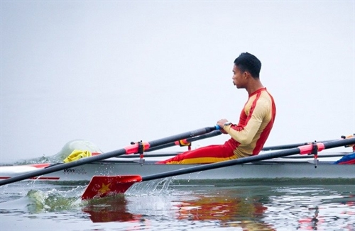 Việt Nam triumph at Asian rowing tourney