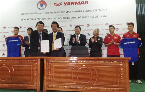 Yanmar VFF to work for stronger VN team