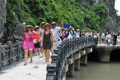 Tourist arrivals up sharply in 2016