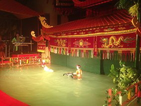 New water puppetry theatre in HCM City