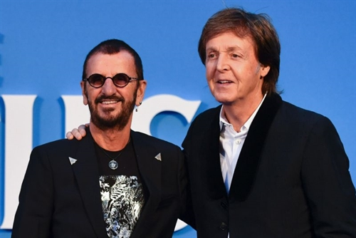Paul McCartney emotional as Beatles film has UK premiere