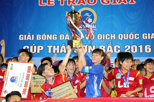 HCM City 1 take natl womens football title