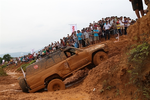 Drivers to overcome challenges at Vietnam Offroad Cup