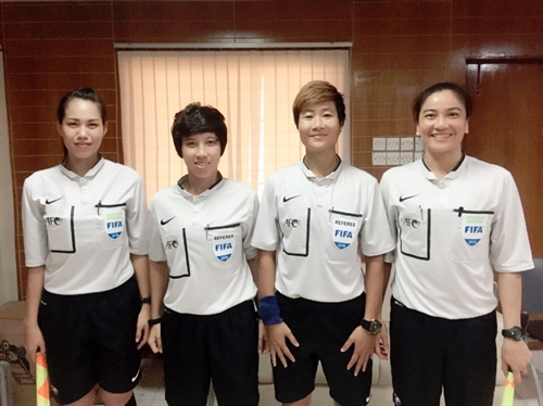 Trinh to referee at U17 Womens World Cup