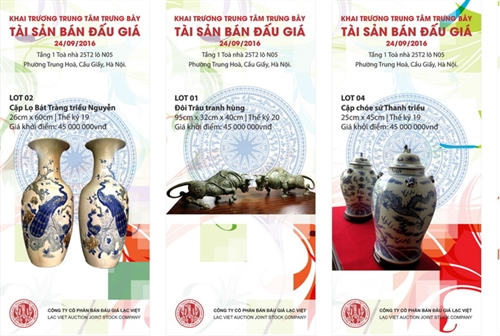 First art auction centre opening in Hà Nội