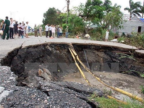 Land movement caused Cẩm Phả sinkhole: experts