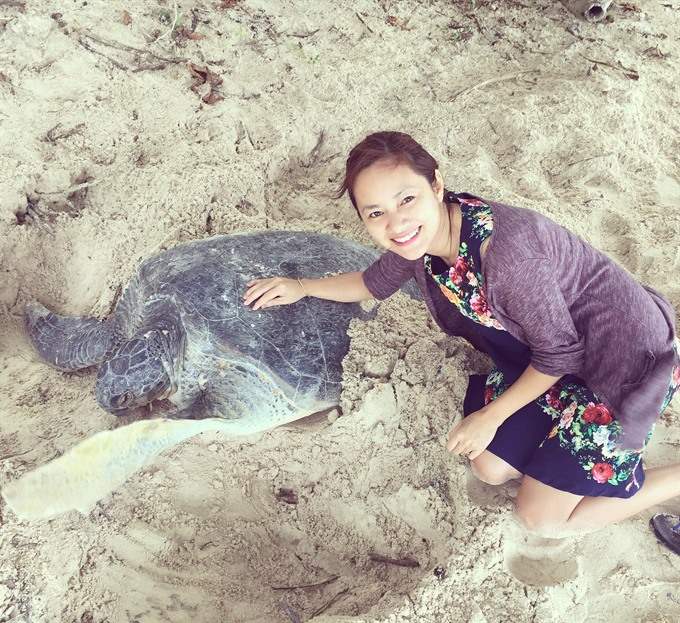 Protecting sea turtles on Côn Đảo Islands
