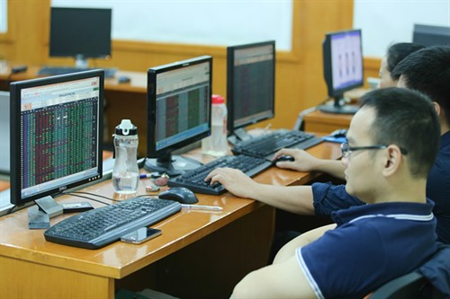 VN stocks hit eight-year high