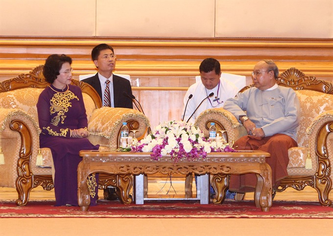 VN parliament resolved to bolster ties with Myanmar