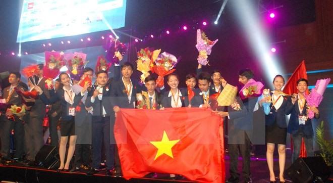 Việt Nam ranks third at ASEAN Skills Competition