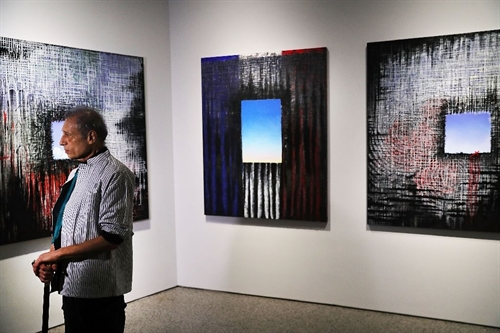 NY 9/11 museum welcomes art on attacks 15th anniversary
