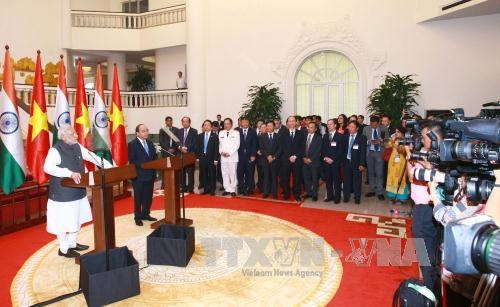 Việt Nam India issue Joint Statement