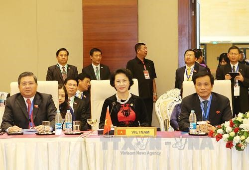 NA Chairwoman delivers speech at AIPA-37 meeting with countriess leaders