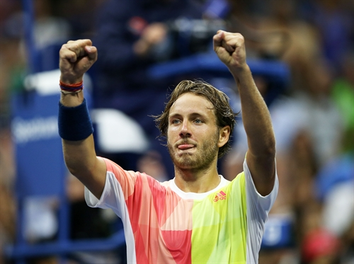 Pouille stuns Nadal to lead French charge into US Open quarter-finals