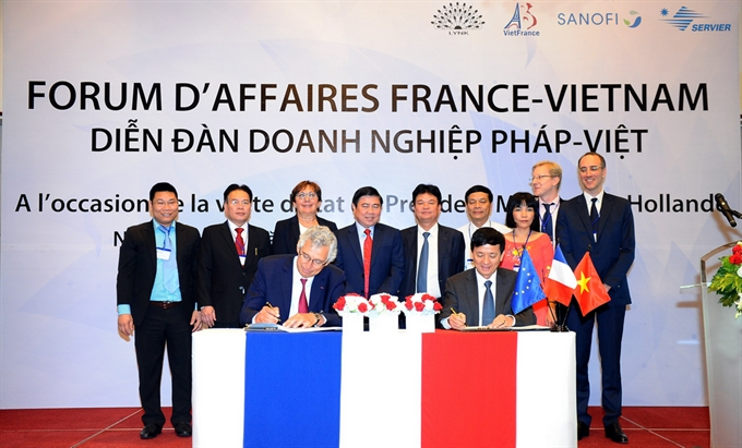 French VN firms sign deals