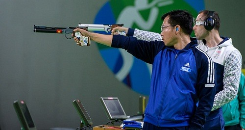 Marksman Vinh to participate in ISSF World Cup