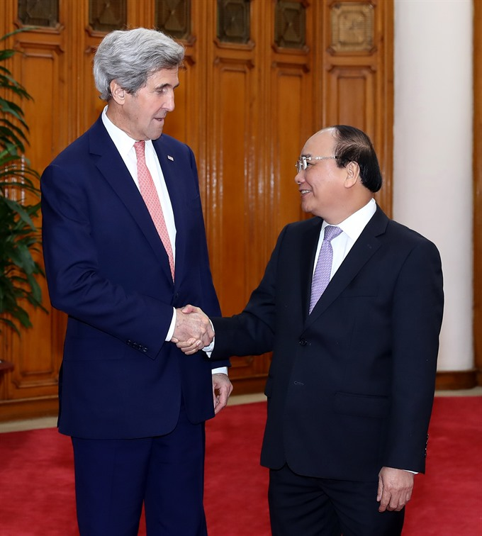 PM happy with growth in VN-US ties