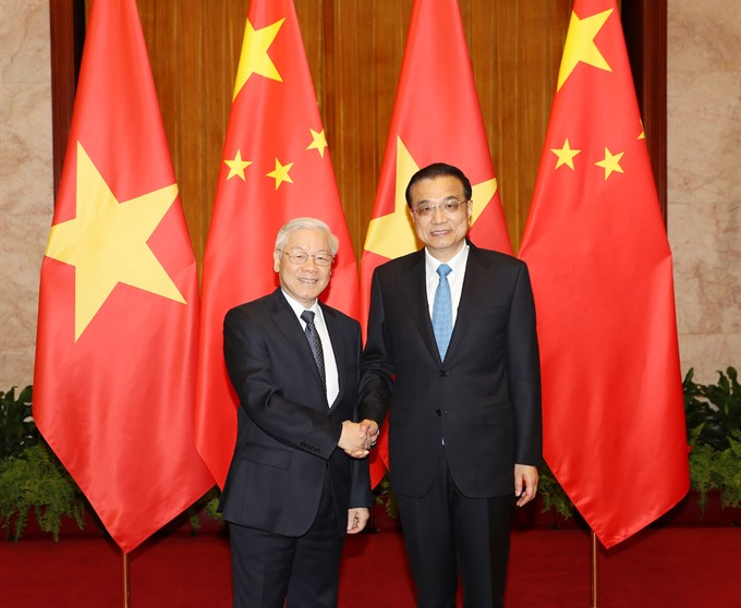 China VN agree to forge win-win co-operation