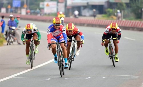 Tâm wins stage of Bến Tre cycling event