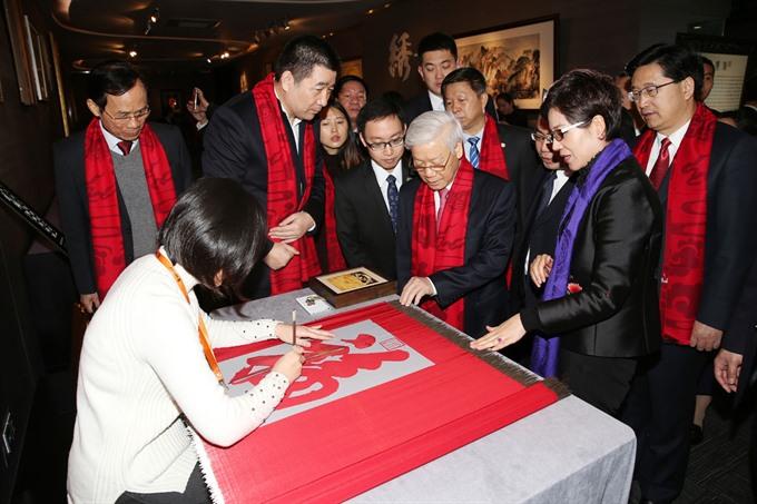 VN Party leader visits Zhejiang wrapping up China visit