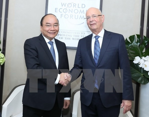 Prime Minister active on sidelines of WEF meeting