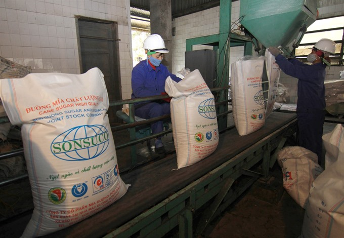 VN sugar production down 13%