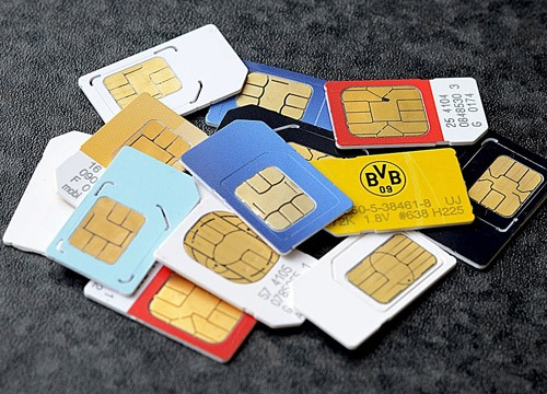 16 million pre-activated SIM cards locked