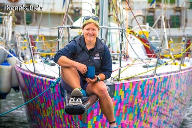 Australian woman sets sails for world record in Antarctica