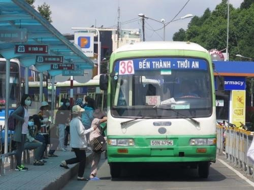 HCM City replaces old buses alters some routes