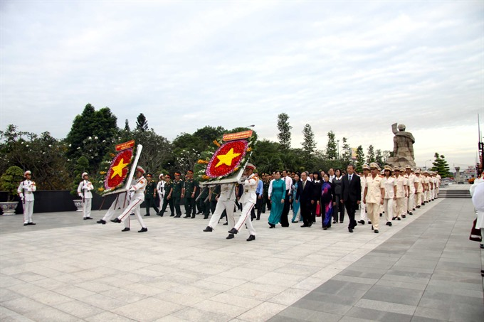 Party State leaders made Tết visits