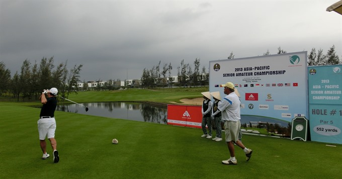Golfers to challenge at World Masters in Đà Nẵng