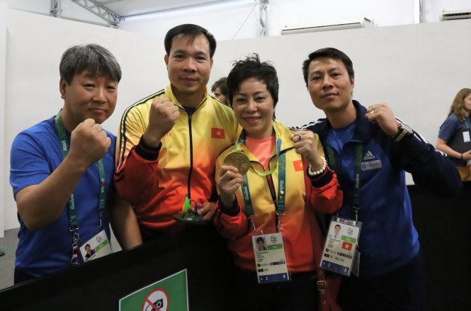Shooting coach Park applies for Vietnamese citizenship