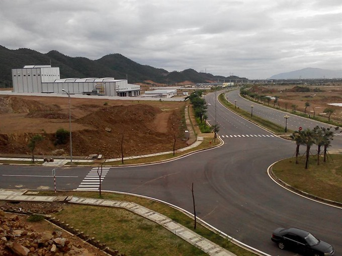 Central city invests in infrastructure of hi-tech park