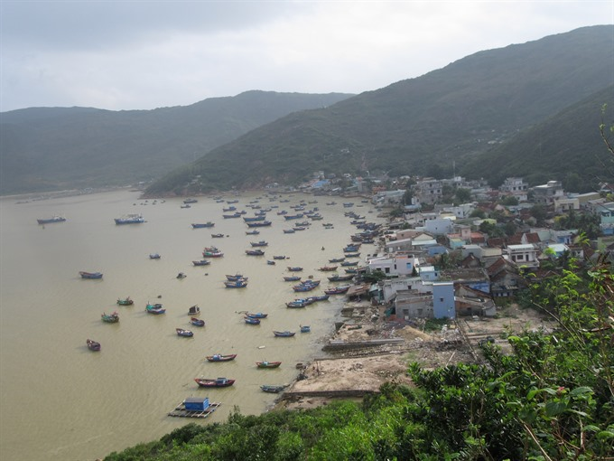 Hải Minh a fishing village marked by beauty and peace