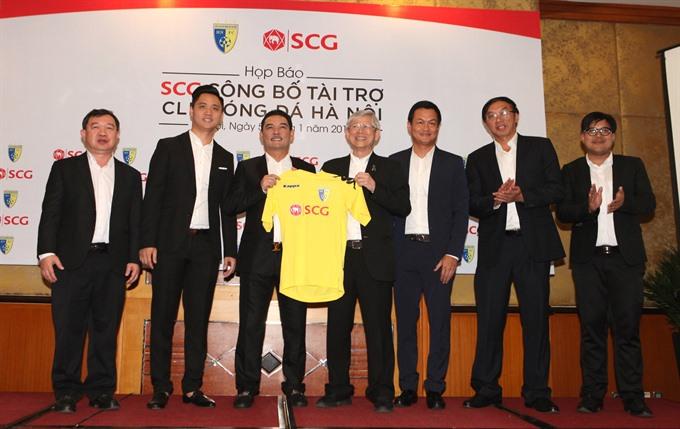 SCG sponsors Hà Nội Football Club
