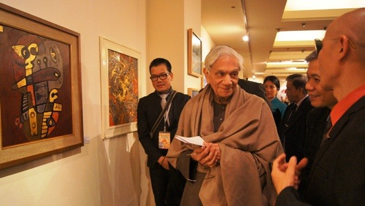 Exhibition of Vietnamese artists held in India