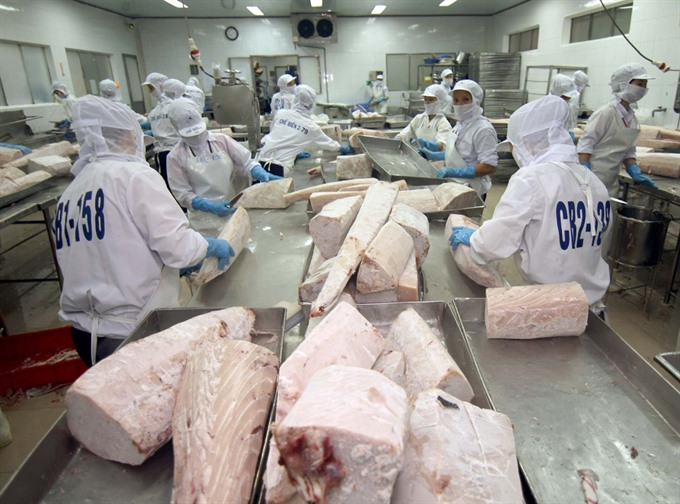 VN targets 7.1b seafood exports this year