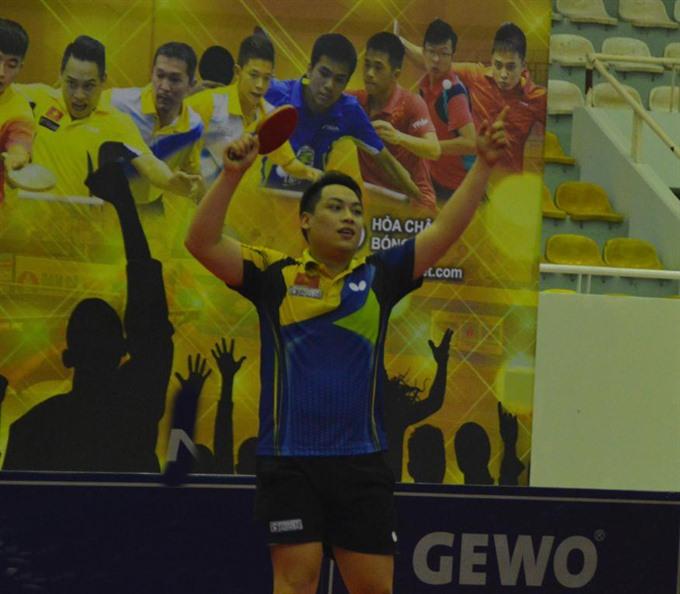 Đạt wins Elite table tennis tournament