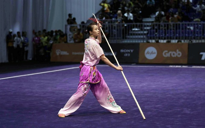 Vi wins world gold medal for Việt Nam