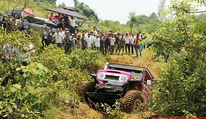 Forty teams to compete in 4x4 off-road event