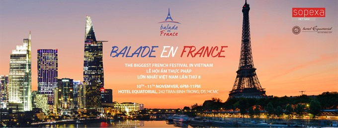 One Month in France culinary event in HCM City Hà Nội