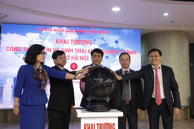 Online portal launched for Vietnamese start-ups