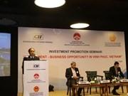 Vĩnh Phúc province invites investors in India