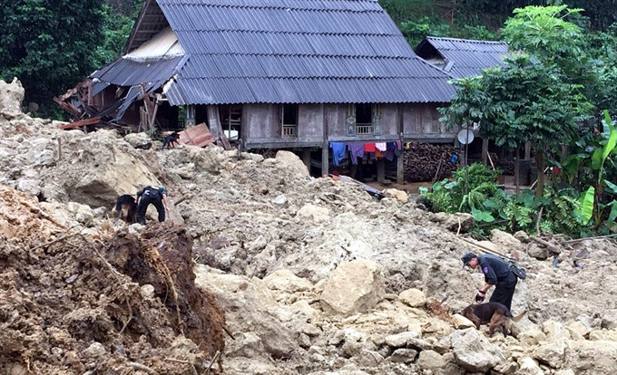 Natural disasters turn villagers lives upside down
