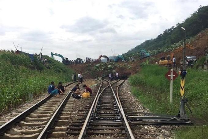 Hà Nội-Lào Cai train route re-opens