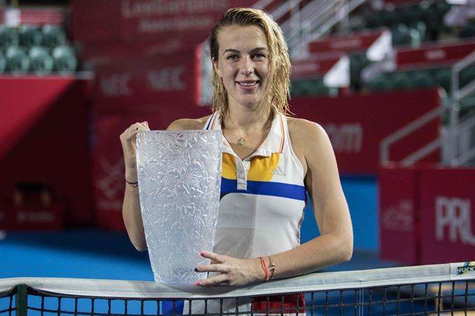 Pavlyuchenkova beats Gavrilova after Hong Kong marathon