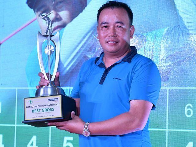Quân wins Danko Golf trophy