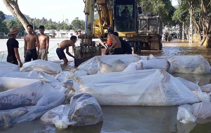Flood-hit areas prepare for disease outbreaks
