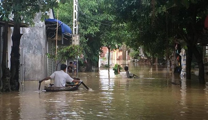 HN to relocate residents living in flooded areas