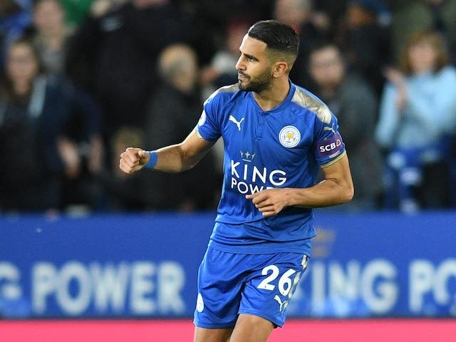 Mahrez snatches draw for struggling Leicester